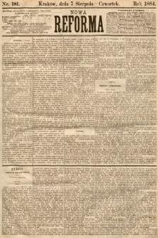 Nowa Reforma. 1884, nr181