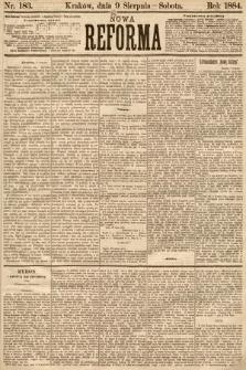 Nowa Reforma. 1884, nr183