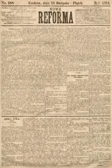 Nowa Reforma. 1884, nr188