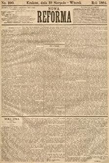 Nowa Reforma. 1884, nr190