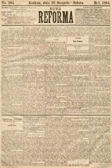 Nowa Reforma. 1884, nr194