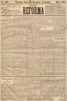 Nowa Reforma. 1884, nr198