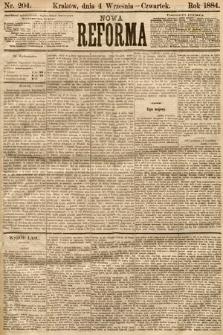 Nowa Reforma. 1884, nr204