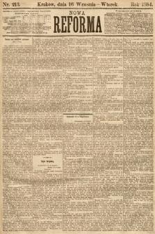 Nowa Reforma. 1884, nr213
