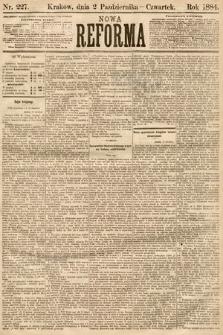 Nowa Reforma. 1884, nr227