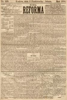Nowa Reforma. 1884, nr229