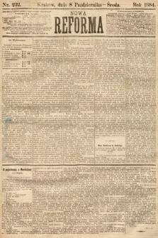 Nowa Reforma. 1884, nr232
