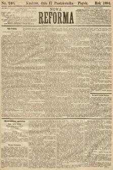 Nowa Reforma. 1884, nr240