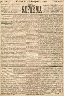 Nowa Reforma. 1884, nr257