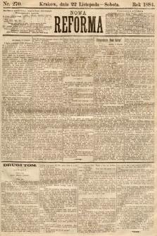 Nowa Reforma. 1884, nr270