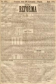 Nowa Reforma. 1884, nr275