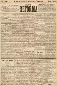 Nowa Reforma. 1884, nr280