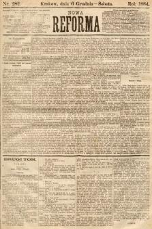 Nowa Reforma. 1884, nr282