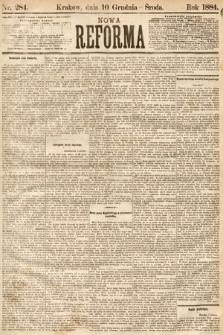 Nowa Reforma. 1884, nr284