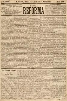 Nowa Reforma. 1884, nr288