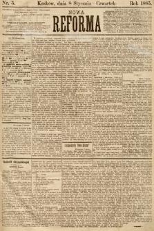 Nowa Reforma. 1885, nr5