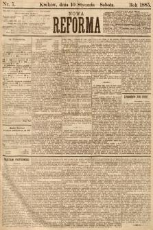 Nowa Reforma. 1885, nr7