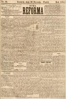 Nowa Reforma. 1885, nr12