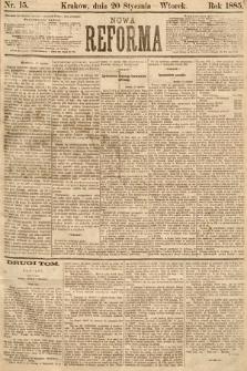 Nowa Reforma. 1885, nr15
