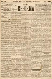 Nowa Reforma. 1885, nr23