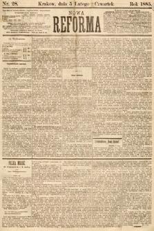Nowa Reforma. 1885, nr28
