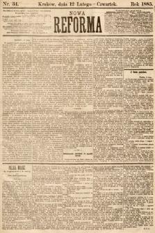 Nowa Reforma. 1885, nr34