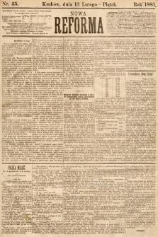 Nowa Reforma. 1885, nr35