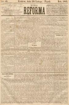Nowa Reforma. 1885, nr41