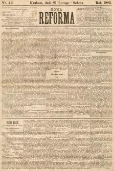Nowa Reforma. 1885, nr42
