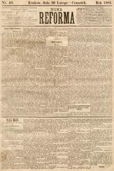 Nowa Reforma. 1885, nr46