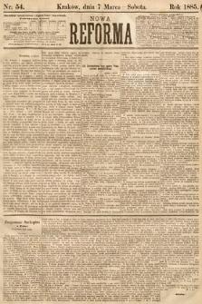 Nowa Reforma. 1885, nr54