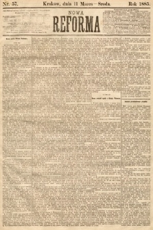 Nowa Reforma. 1885, nr57