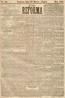 Nowa Reforma. 1885, nr65