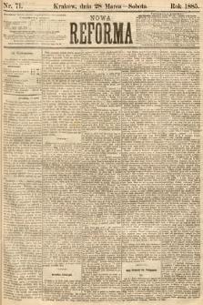 Nowa Reforma. 1885, nr71