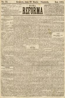 Nowa Reforma. 1885, nr72