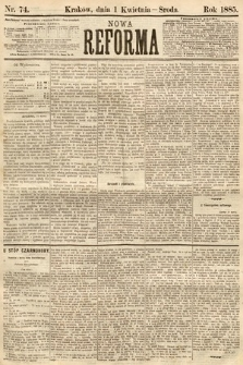 Nowa Reforma. 1885, nr74