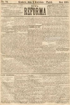 Nowa Reforma. 1885, nr76
