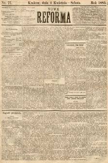 Nowa Reforma. 1885, nr77