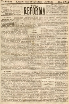Nowa Reforma. 1885, nr82 i 83