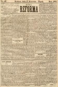 Nowa Reforma. 1885, nr87