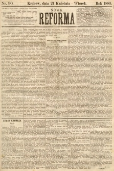 Nowa Reforma. 1885, nr90