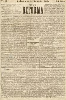 Nowa Reforma. 1885, nr91