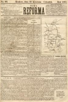 Nowa Reforma. 1885, nr92