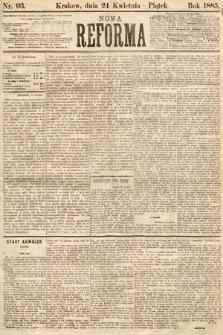 Nowa Reforma. 1885, nr93