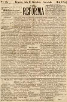 Nowa Reforma. 1885, nr98