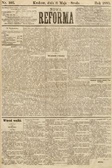 Nowa Reforma. 1885, nr103