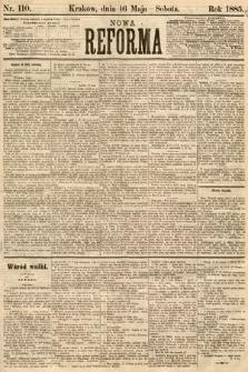 Nowa Reforma. 1885, nr110