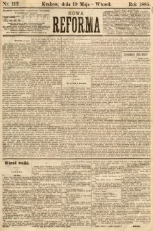 Nowa Reforma. 1885, nr112