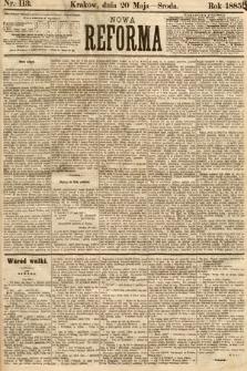 Nowa Reforma. 1885, nr113