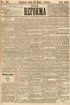 Nowa Reforma. 1885, nr116